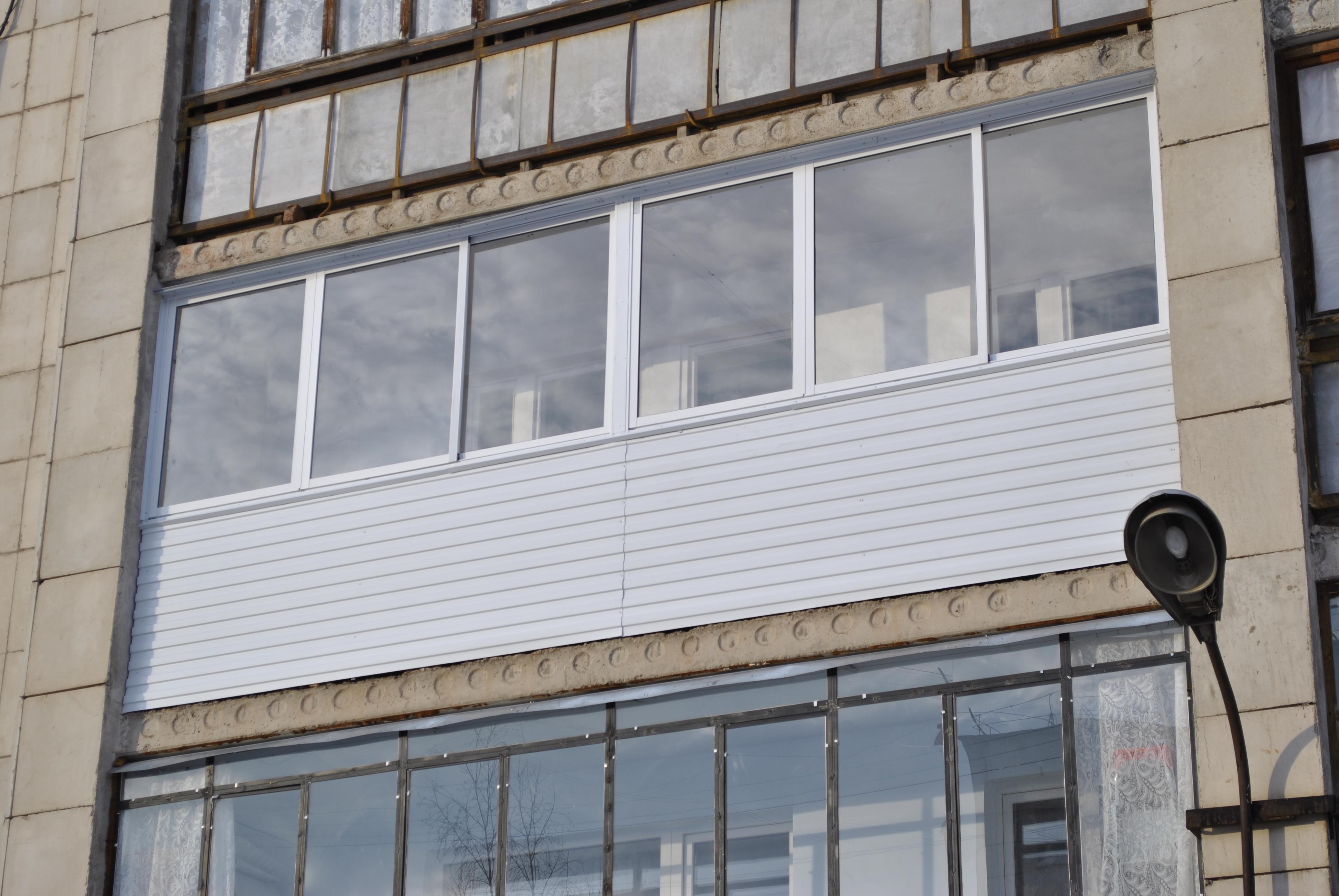 Теплое остекление балконов 6 м (метров) под ключ: цены и фот.
